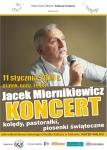 Zapraszamy na wspólne kolędowanie z Jackiem Miernikiewiczem